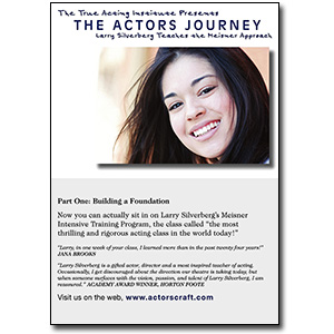 The Actors Journey by Larry Silverberg