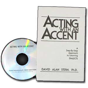 Acting With An Accent <em>French</em> by David Alan Stern