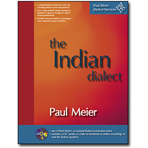 Paul Meier Dialect Services <em>General Indian (The Sub-Continent)</em> by Paul Meier